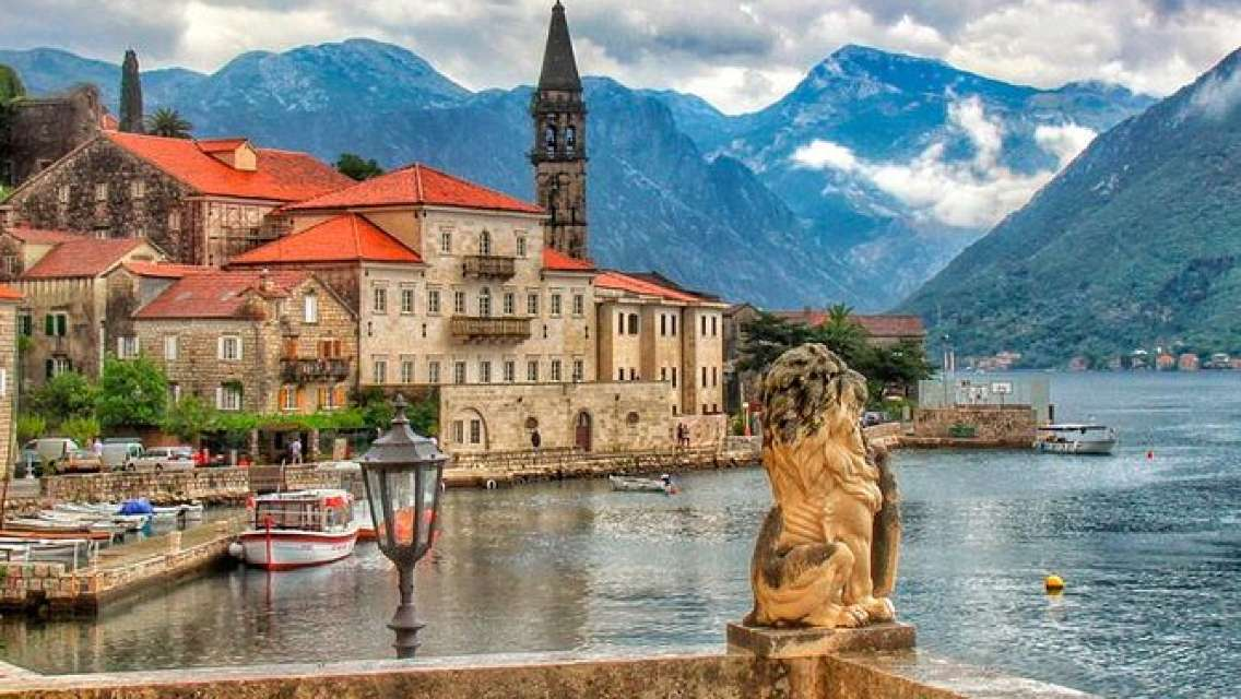 Day Trip from Kotor Port to Perast, Our Lady of The Rocks, Kotor Old Town
