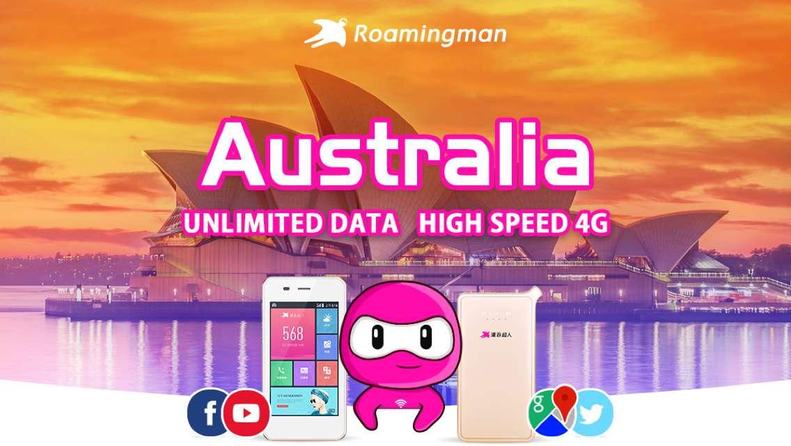 4G WiFi for Australia (Kuala Lumpur Pickup)