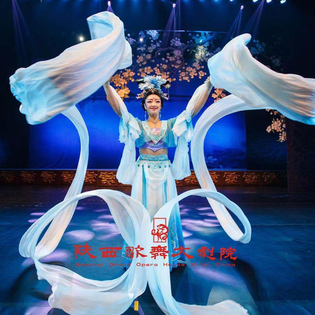 西安-陝西歌舞大劇院【唐代歌舞ショー】入場券<唐代歌舞観賞/1名出発>