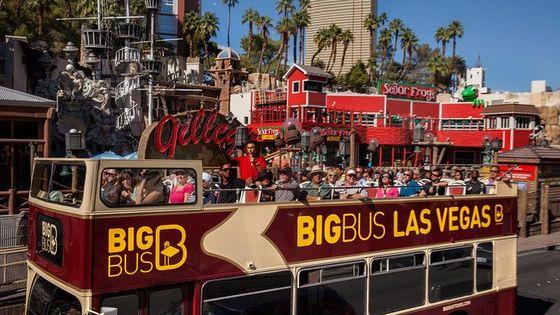 乗り降り自由のラスベガス観光Big Busツアー