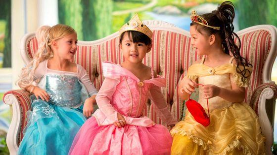 香港迪士尼樂園魔法化妝廳 - 變身小公主及攝影 (限量體驗)