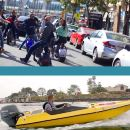 Super Saver: Self-Guided Speed Boat Adventure & iRide GPS Guided ScooterTour