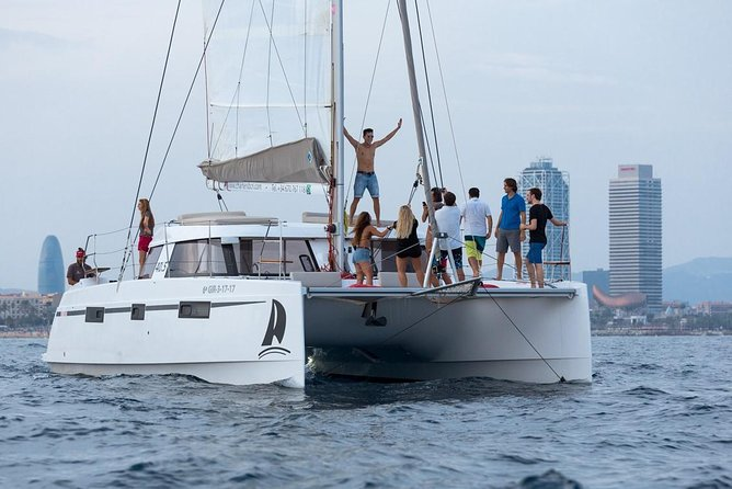 Catamaran Experience 17-20 passengers From Port Olimpic Barcelona