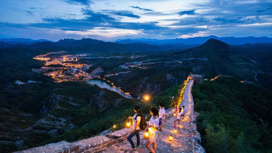 Private English Transfer to Gubei Water Town and Simatai Great Wall Self-Guide Day Trip