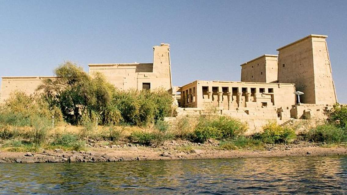 Aswan full day tour phile temple unfinished obelisk high dam