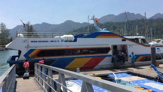 Langkawi to Koh Lipe by Ferry, Minivan & Satun Pakbara Speed Boat in Low Season