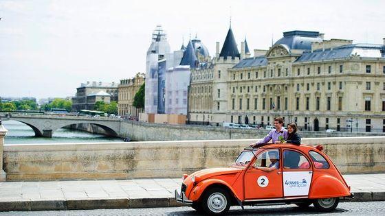 Exclusive Private Paris Tour by Citroen 2CV