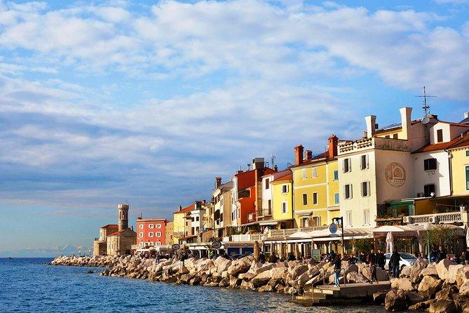 Piran & Panoramic Slovenian Coast from Rijeka