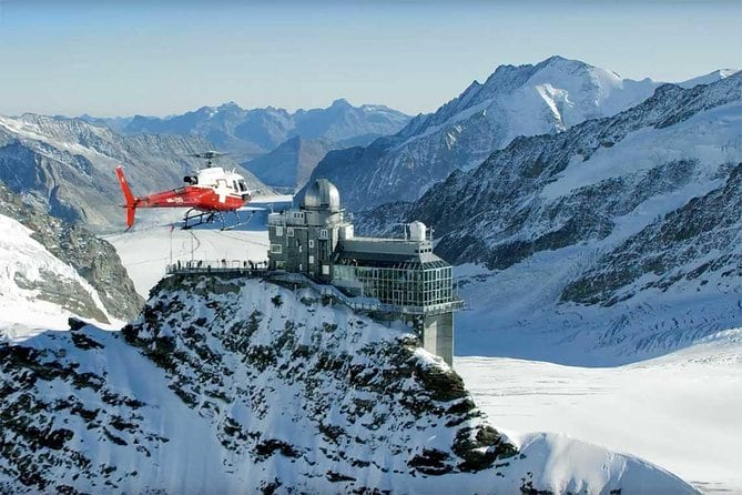 Jungfraujoch helicopter flight one way
