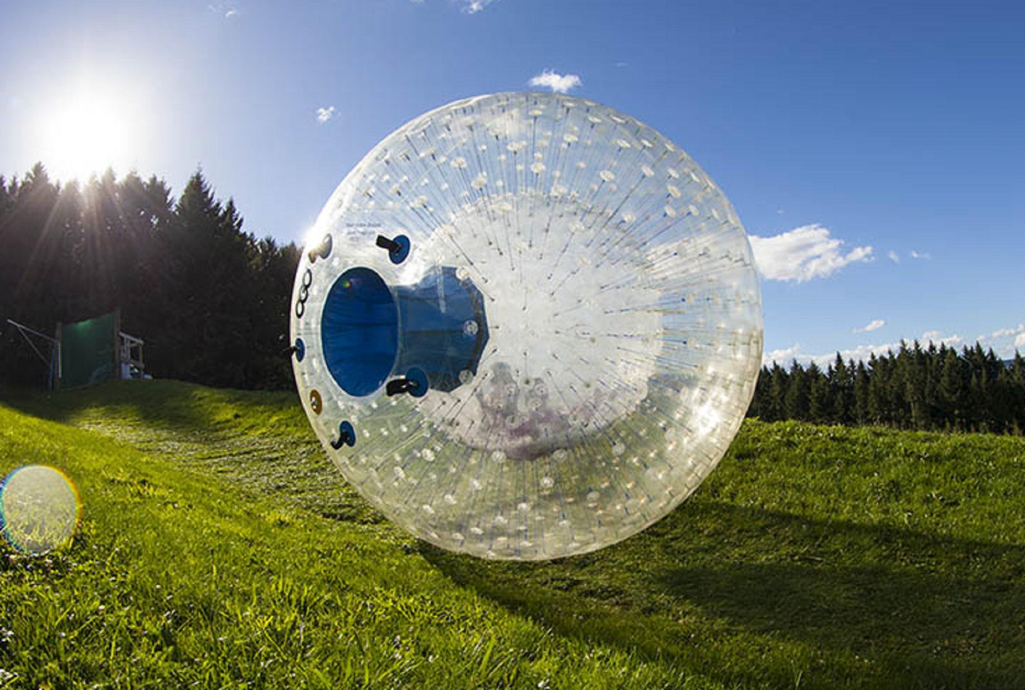 新西蘭羅托魯瓦 OGO 悠波球體驗