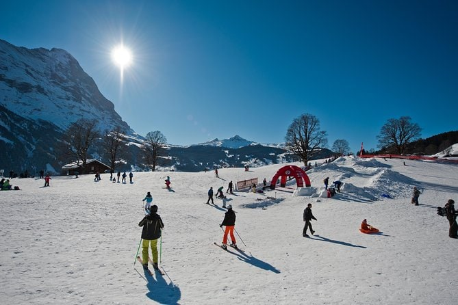 Beginners Ski Day Trip to Jungfrau Ski Region from Lucerne