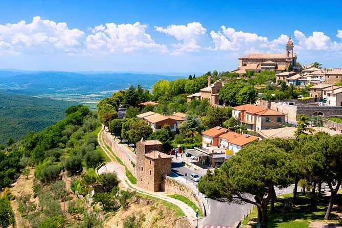 Montalcino and Pienza Tuscany Wine&Cheese Fullday from Rome