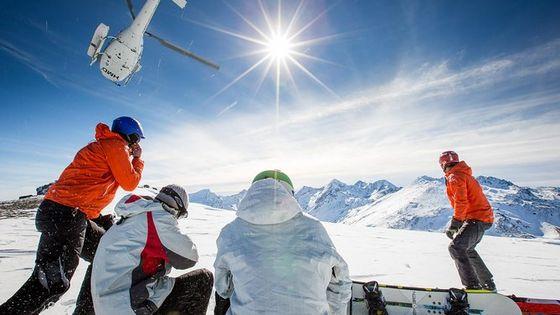 Full-Day Alpine Heliski Adventure
