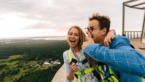 Walk on the Edge Attraction Ticket: Walk Along the Edge of Tallinn TV Tower
