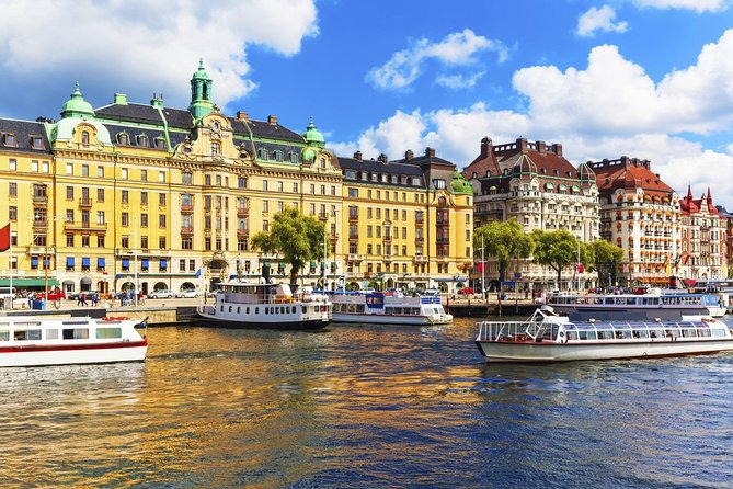 Stockholm Private Tour with a visit the Vasa Museum and a boat cruise