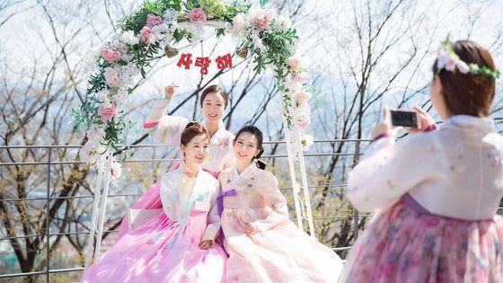 N Seoul Tower Hanbok Rental