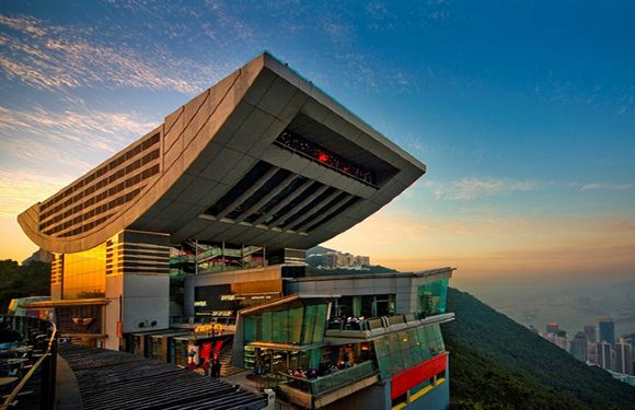 香港太平山頂淩霄閣摩天台428門票