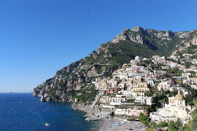 Amalfi Coast day tours from Naples and Sorrento to: Positano, Amalfi and Ravello