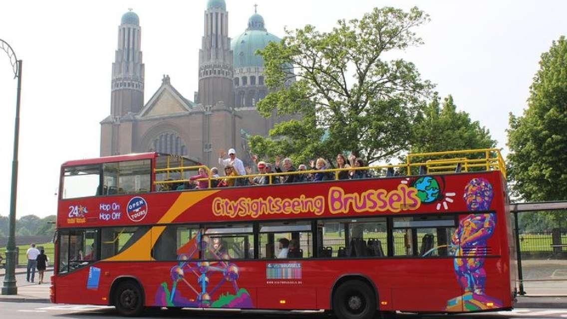 Brussels Hop-On Hop-Off Tour