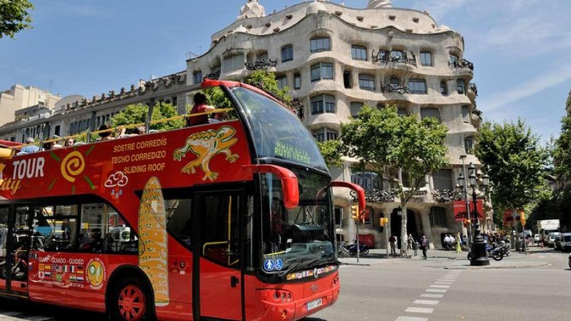 Barcelona City Tour Hop-On Hop-Off
