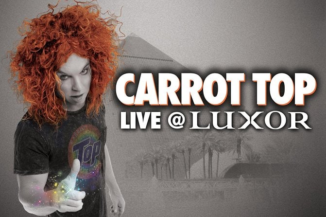 Carrot Top at the Luxor Hotel and Casino