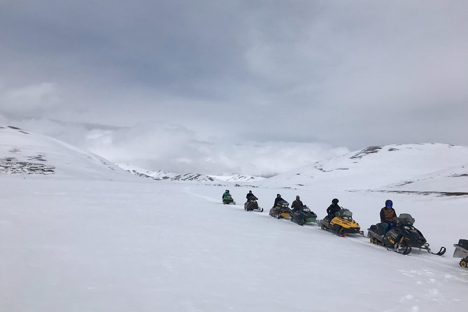 Snowmobile / Quad Bike ATV Private Tour from Bakuriani to Tabatskuri Lake