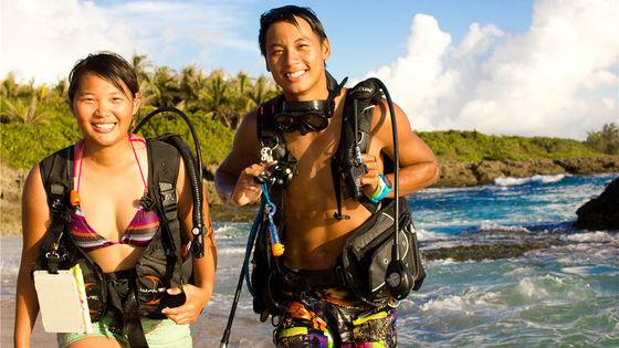 墾丁潜水體驗 | 後壁湖岸潛深潛體驗( 含專業資質教練/接送/水底拍照)