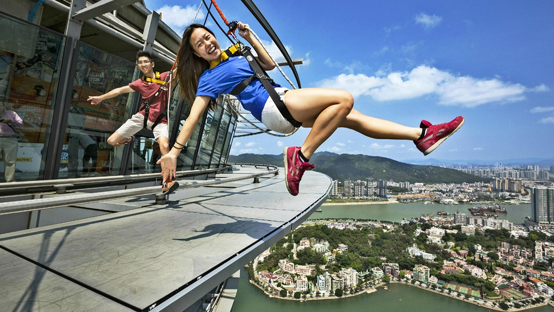 Macau Tower Skywalk/Mast Climb