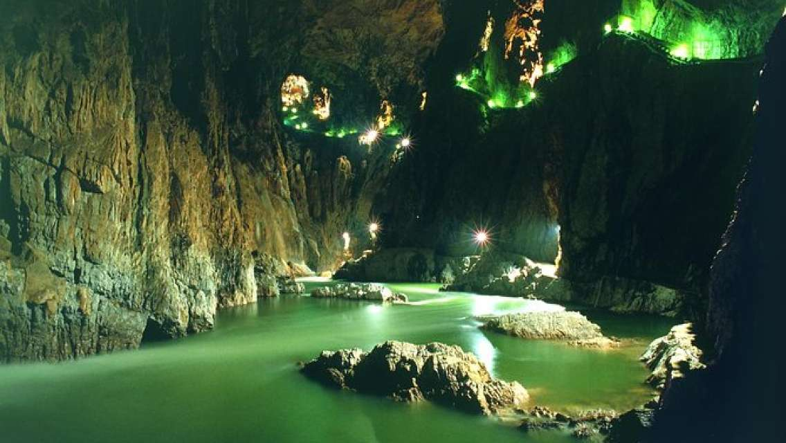 Lipica Stud Farm and Skocjan Caves from Rovinj