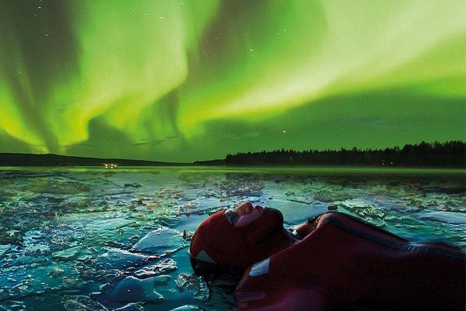 Aurora Ice Floating in Rovaniemi