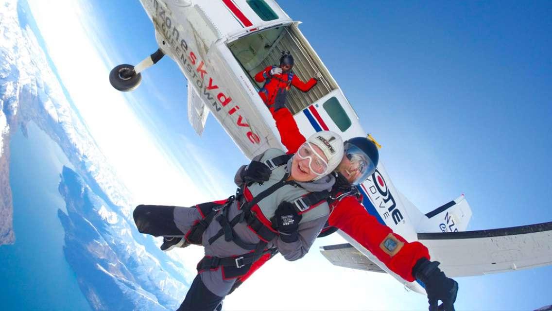 紐西蘭皇后鎮Nzone高空跳傘(三種高度可選+電子票免列印+接送)
