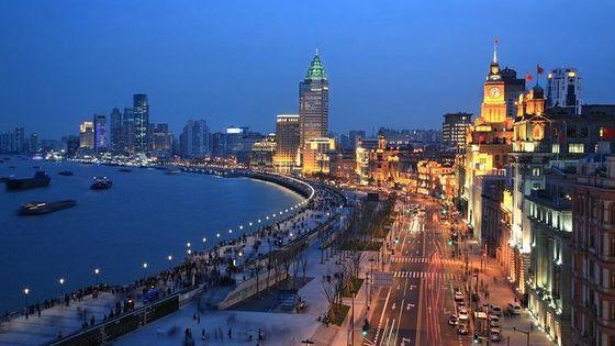 Shanghai Night Tour to Huangpu River Cruise +Dingtaifeng or Buffet at Cruiseship