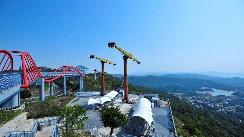 深圳東部華僑城茵特拉根溫泉+大梅沙一日遊