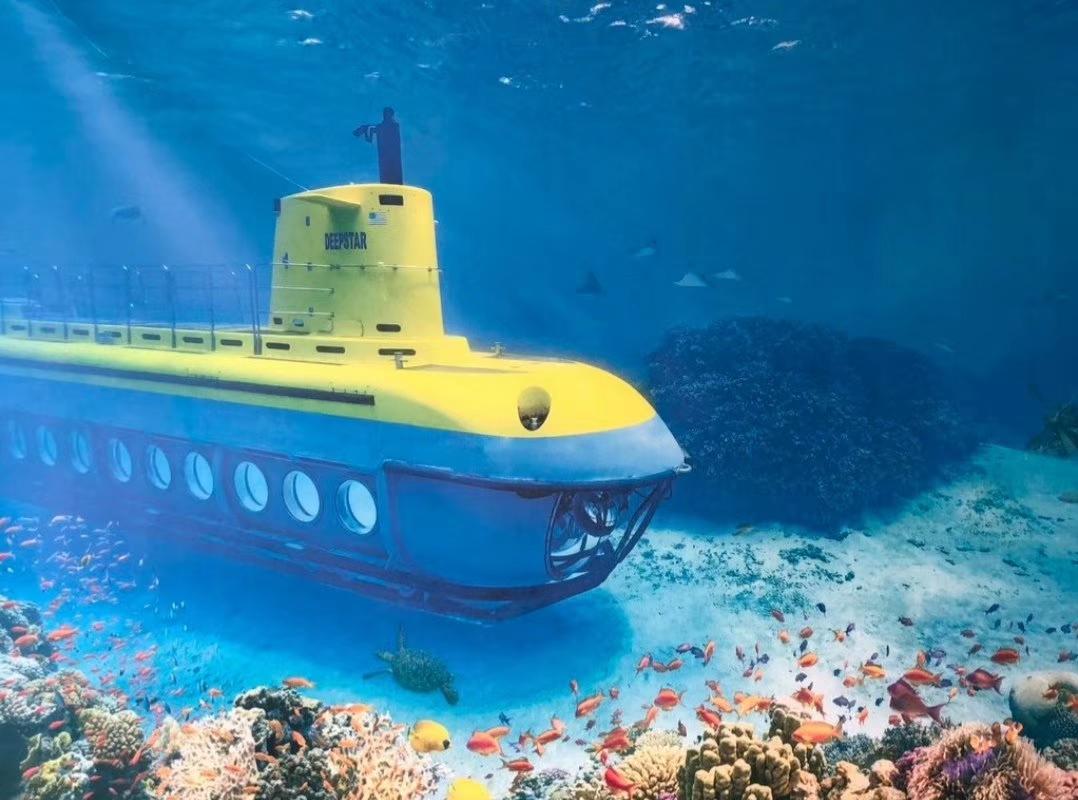 美國塞班島美人魚號潜水艇半日遊