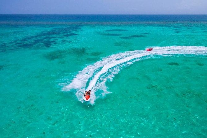 Waverunner, Snorkel, Beach Access & Round Way Transportation