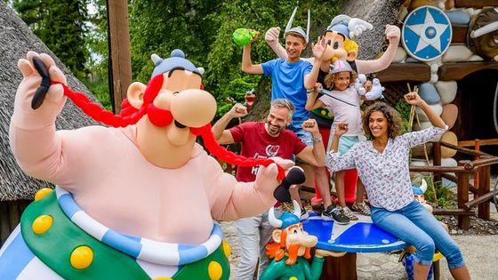 Parc Asterix Admission Ticket