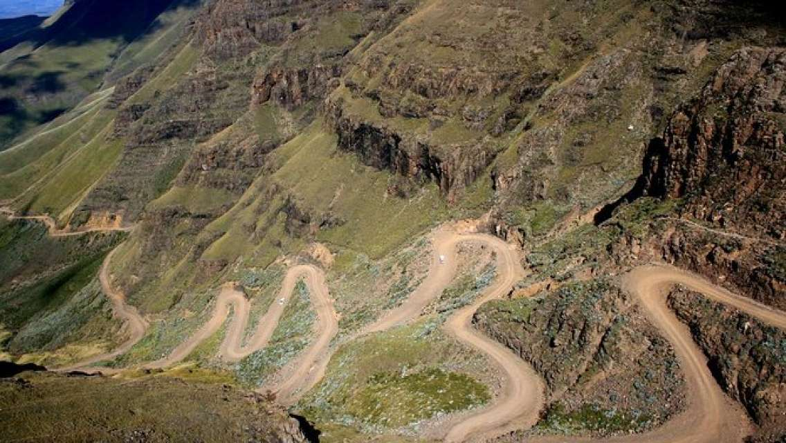 Mountain Splendor -The Kingdom of Lesotho from Durban