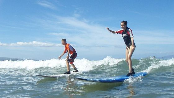 Group Surf Lesson: Two Hours of Beginners Instruction in Kihei