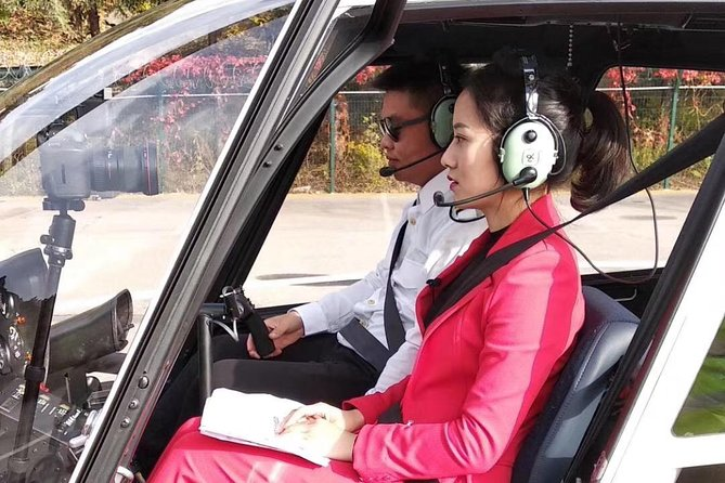 30 minutes Helicopter VIP tour at Badaling Greatwall and Primitive Remnant Wall