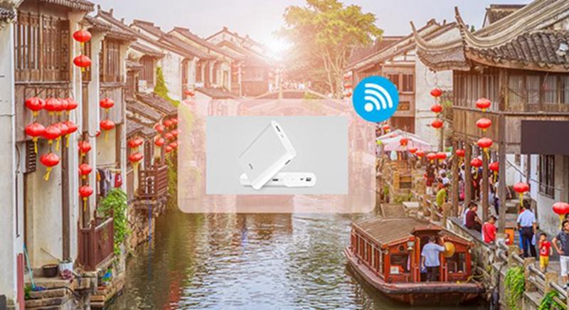 中國 |  WIFI上網分享器+免翻牆上FB(每日1GB高速)