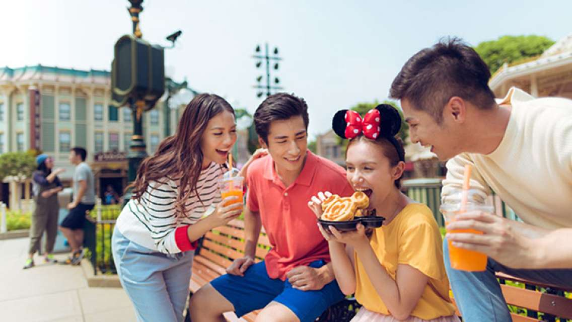 Hong Kong Disneyland Meal Vouchers