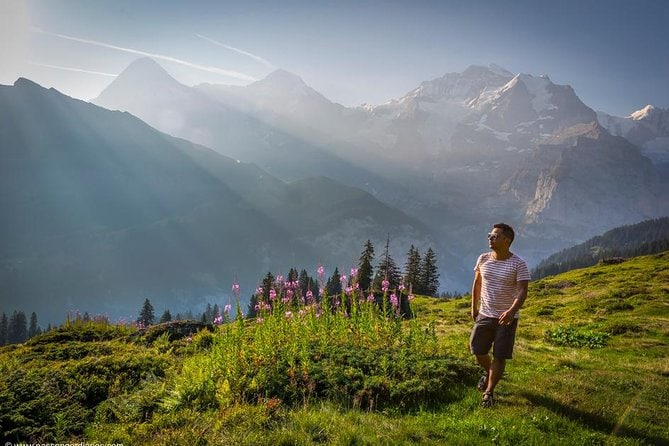 Lauterbrunnen Waterfalls & Mountain View Trail Private Hiking Tour from Lucerne