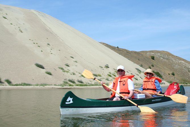 Untouched Sand Dunes - Guided canoe tour on UNESCO site