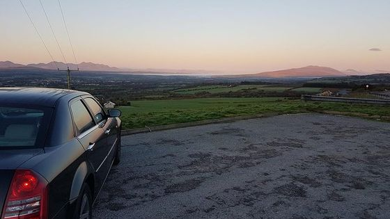 Shannon Airport to Galway City, Private Chauffeur Transfer . Premium Sedan