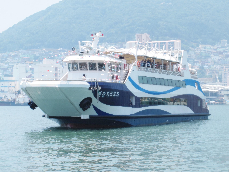 釜山港チャガルチクルーズ 体験チケット