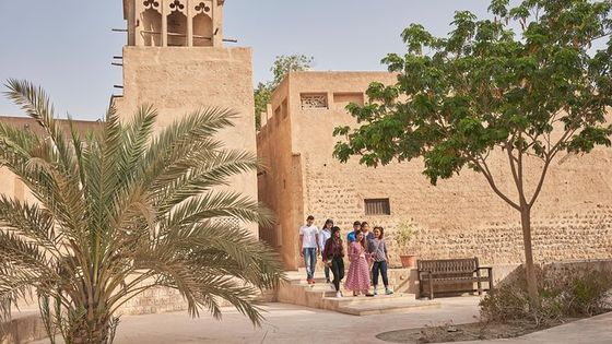 Private Historic Old Dubai and Souks Walking Tour featuring Hidden Gems