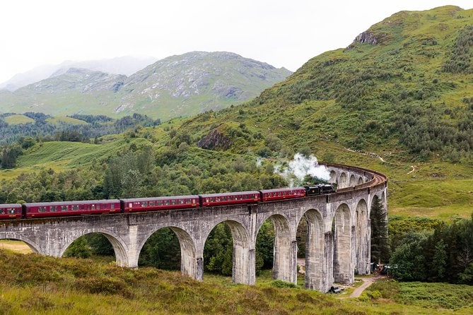 Hogwarts Express and the Scenic Highlands Day Tour from Inverness