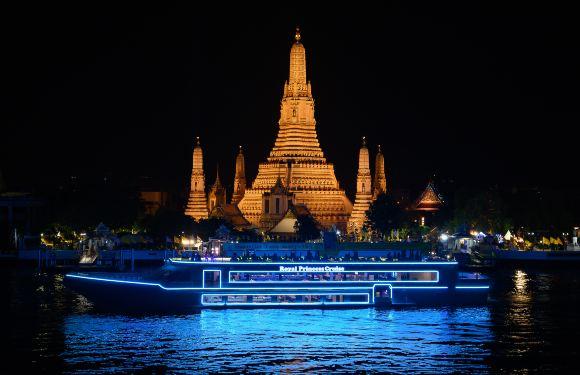 皇家公主號湄南河遊船+自助晚餐(可選接送+快速出票)