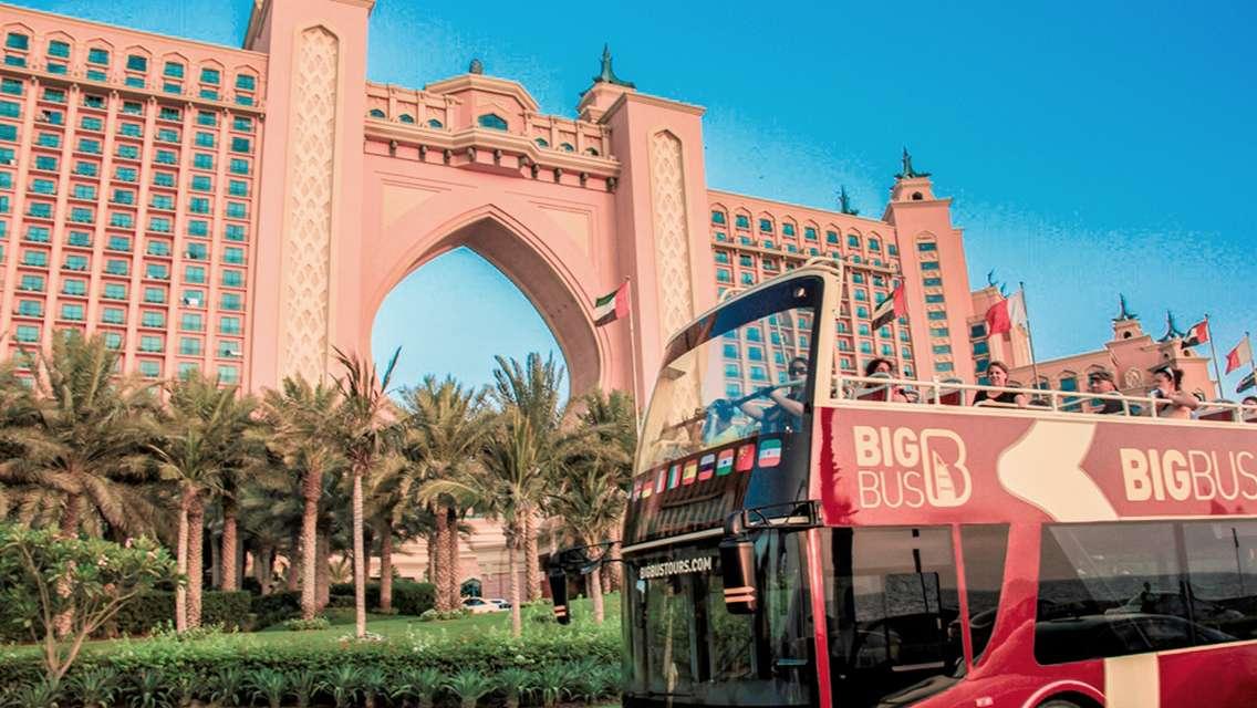 Dubai Big Bus Hop-On Hop-Off Tours