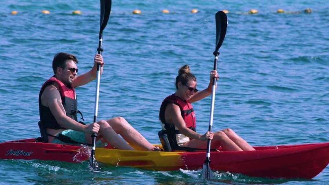 Kayaking in La Mer